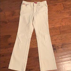 Chaps white jeans